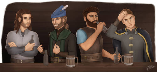 Everglade Tavern by EllixEnchantments