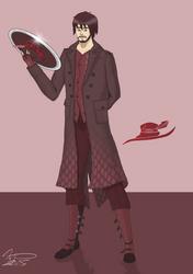 (Rwby oc) Cailean Carmine by Silverado98