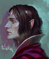 Xan of Evereska by AnzaharTheWizard