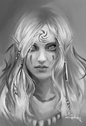 Aerie sketch by AnzaharTheWizard