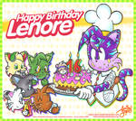 Happy Birthday Lenore