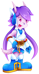 Lilac's new look (Freedom Planet 2) by NekoAmine