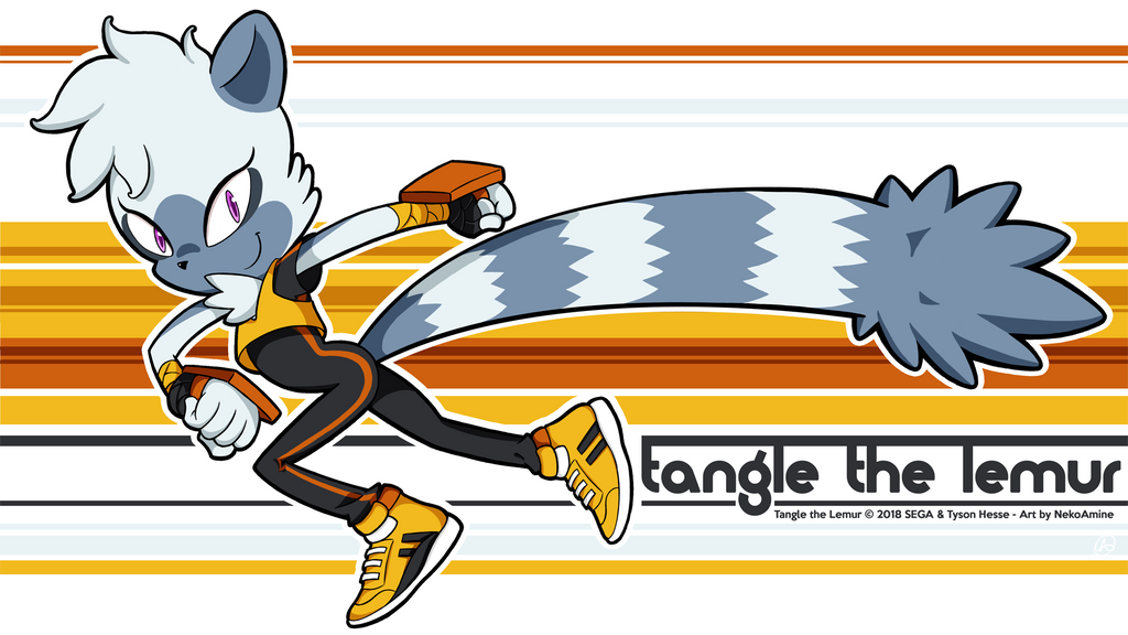 Tangle the Lemur by NekoAmine