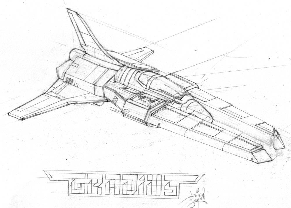 :art: Gradius IV spaceship by NekoAmine
