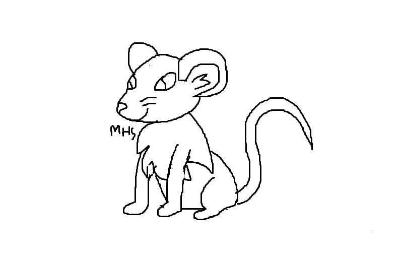 mouse template