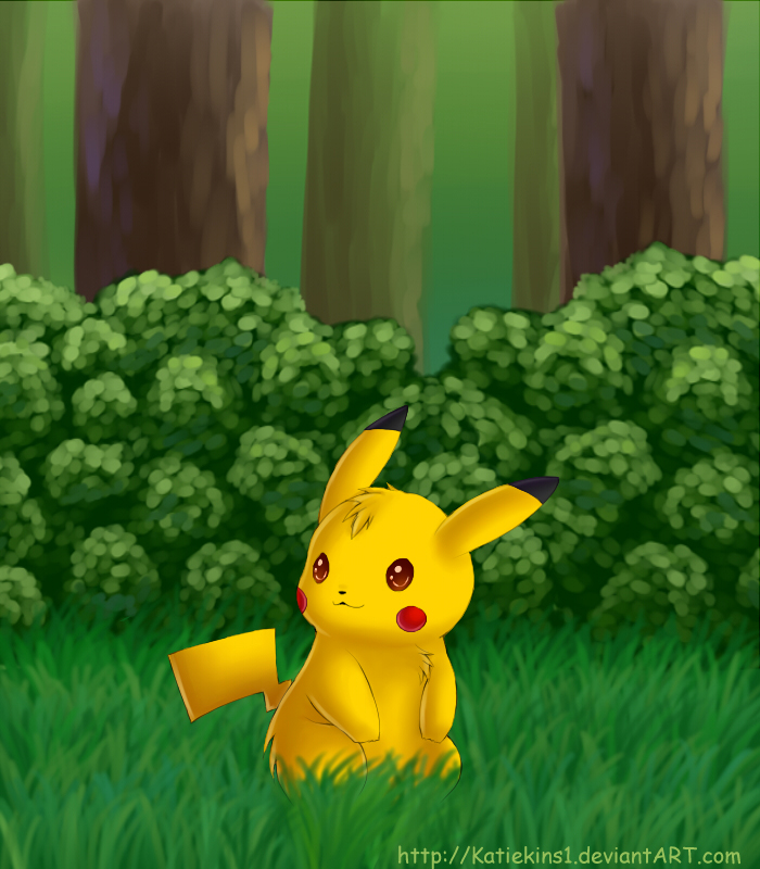 A Wild Pikachu Has Appeared by KteaCrumpet ...