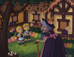 Hansel and Gretel by KteaCrumpet