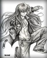 Modern Inuyasha :sketch: by InuIrusa-chan