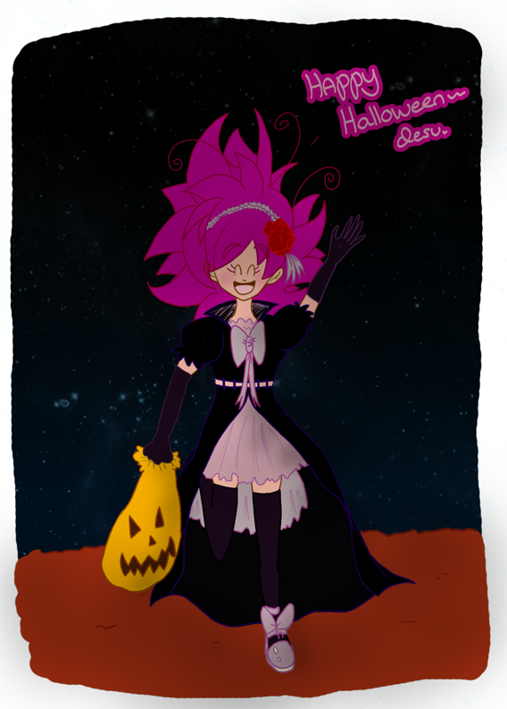 Halloween 14 full-color panel by Chuquita