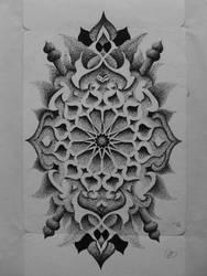 First Dotwork by Transcendentalny-P