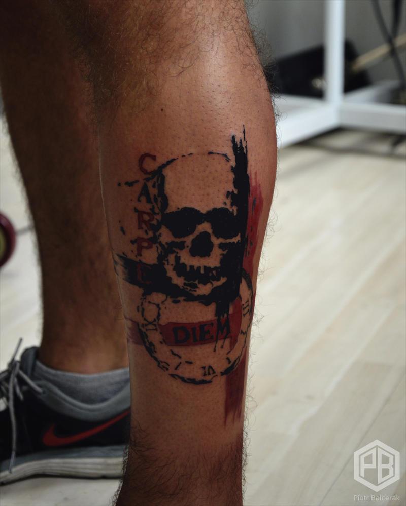 Carpe Diem Tattoo By Transcendentalny P On Deviantart