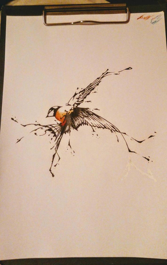 swallow by Transcendentalny-P
