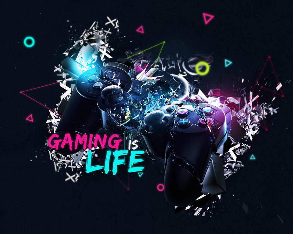 Gamer Thug Controller Hd Wallpapers: Gaming Is Life By StillFree88 On