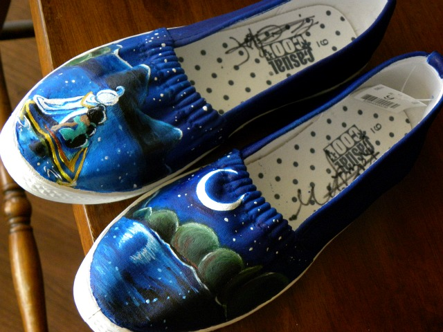 Aladdin Shoes by kategatsby