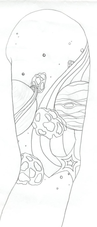 Space Sleeve - sleeve tattoo