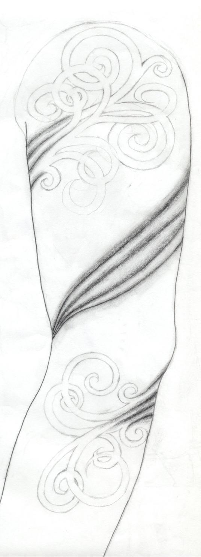 Wisp Sleeve - sleeve tattoo