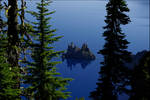 Phantom Ship Crater Lake Ore.