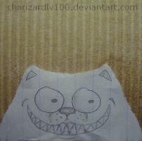 Creepy paper Dog by Chari-Artist