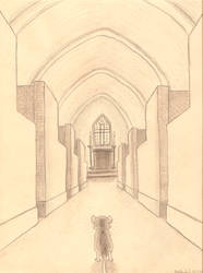 Church Mouse by Chari-Artist