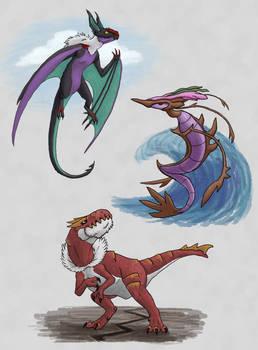 Team Y Dragons - Land, Sea and Sky