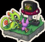 Yooka-Laylee play N64 by Chari-Artist