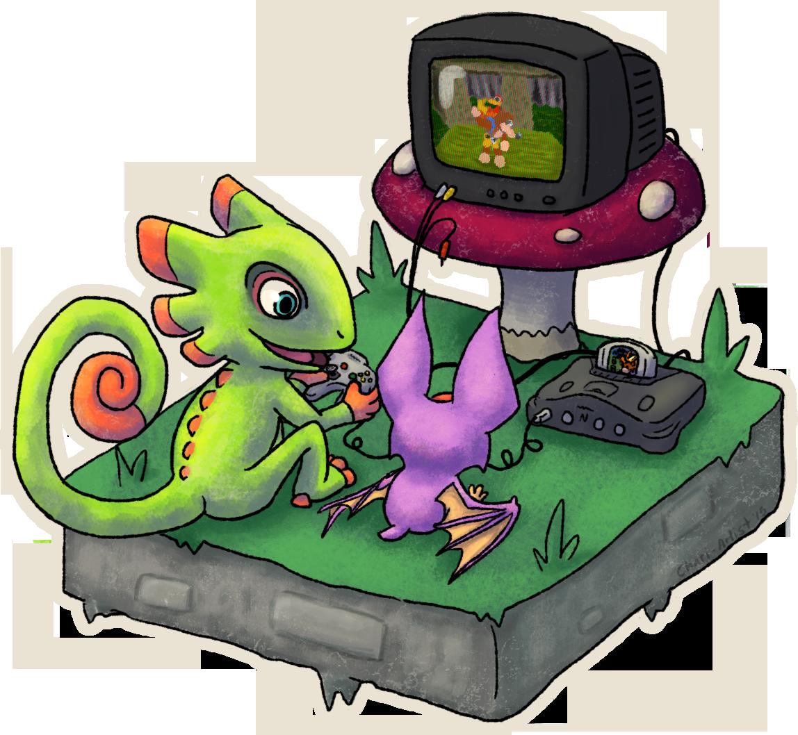 Yooka-Laylee Play N64 By Chari-Artist On DeviantArt