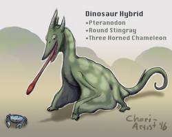JW Mossy Pteray Dinosaur Hybrid by Chari-Artist