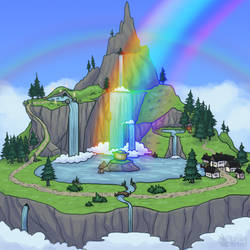 Solpets: Rainbow Falls Official by Chari-Artist