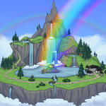 Solpets: Rainbow Falls Official