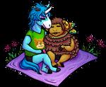 New Leaf Valentine Cuddles - [Julian and Curlos] by Chari-Artist