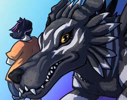 Hey Digimon! - Tamer and BlackGarurumon