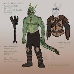 Argonian Krork Character Ref