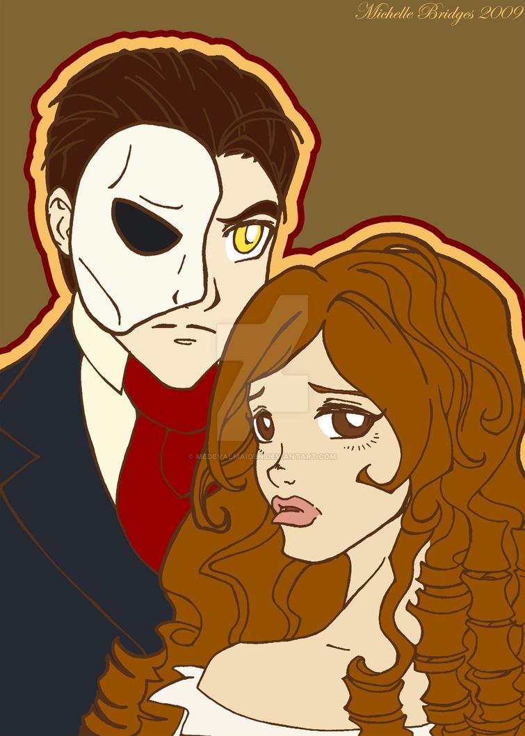 Phantom of the Opera by MedevalMaiden