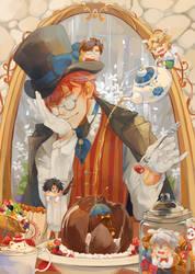 Seven Hatter Wonderland by Hanromi