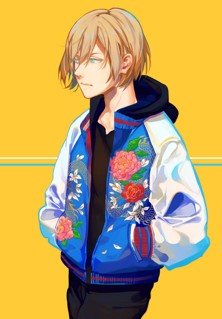 Flower Yurio by Hanromi