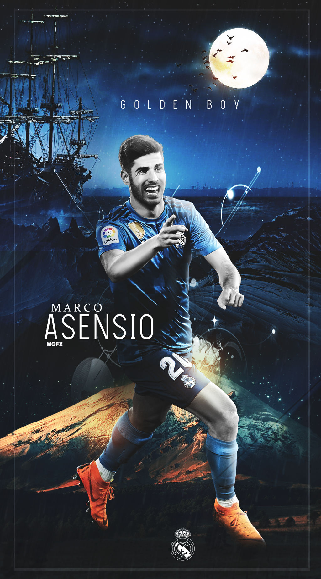 Marco Asensio Wallpaper Lock Screen By 10mohamedmahmoud