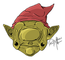 Droopy Eyed Gnome by Mindsparker