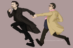 The World's End: Gary and Andy