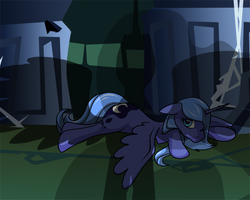 A familiar shadow by InLucidReverie