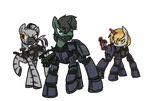 COMMISSION: The Rangers of Wintertrot
