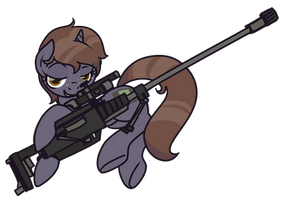 COMMISSION: Pip's Got Your Gun by InLucidReverie