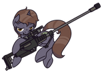 COMMISSION: Pip's Got Your Gun