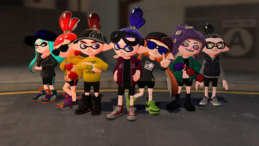 group shot by darkmaster434