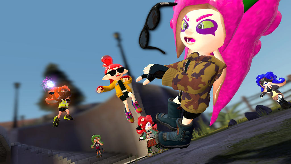 zorin vs the octo force by darkmaster434