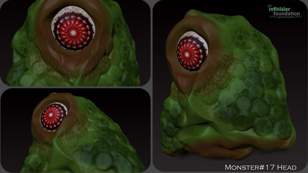 Random Monster Head by theGreatAlbertus