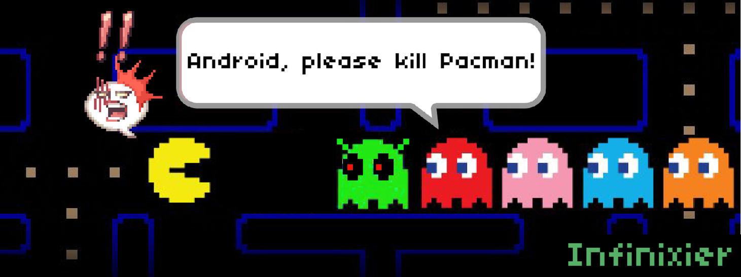 Pacman Never Wins by theGreatAlbertus