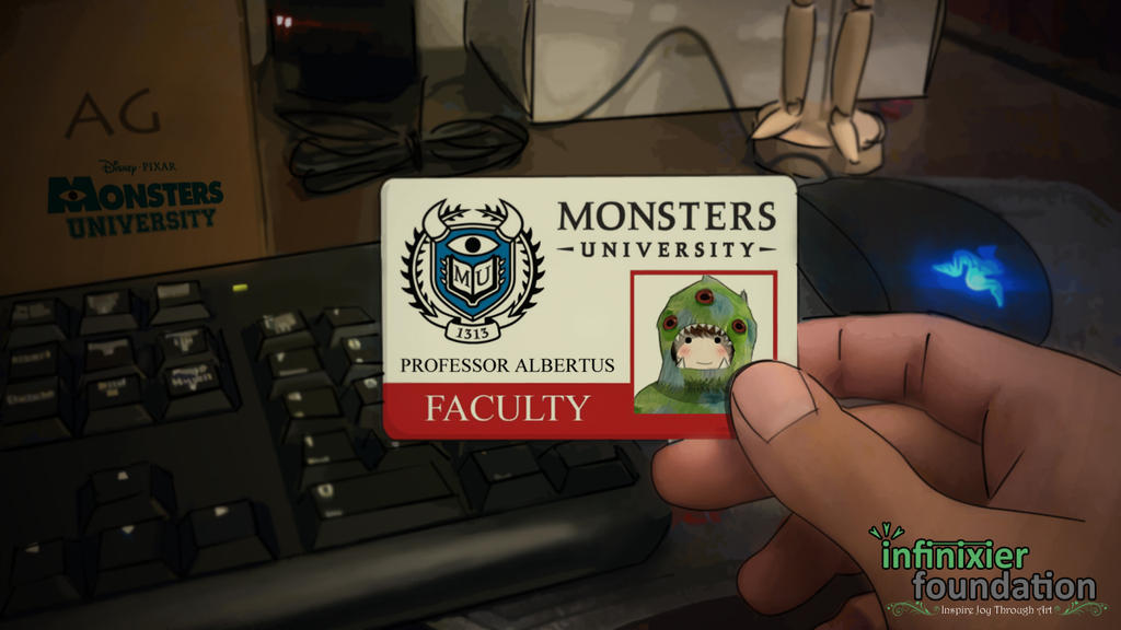 Professor Albertus, Monsters University by theGreatAlbertus