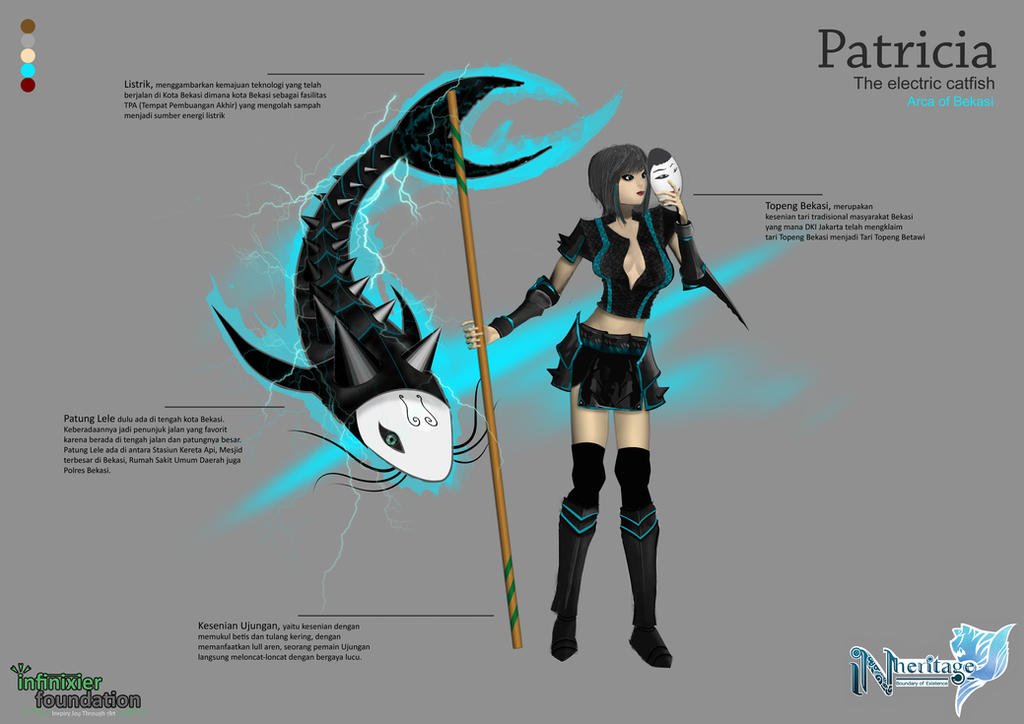 Patricia the Electric Cat Fish by theGreatAlbertus