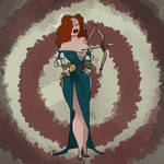 Jessica Rabbit in Brave! by ort-dump