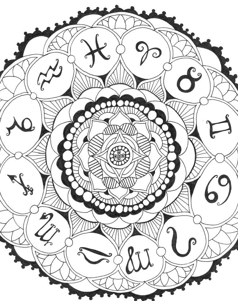 Zodiac Mandala By CynicalPie On DeviantArt